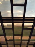 View out main chapel window