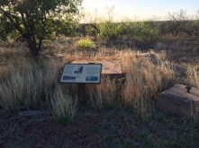 Historic points of interest along the route