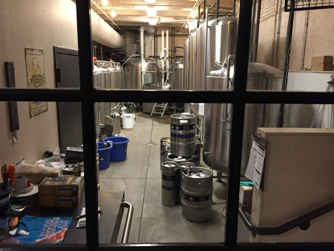 Yup, they brew beer here!