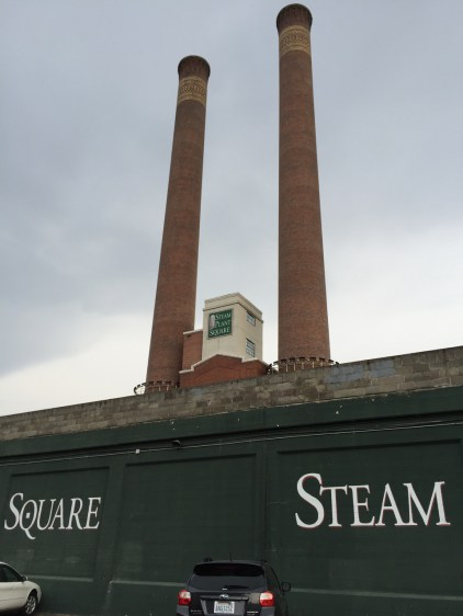 The twin stacks