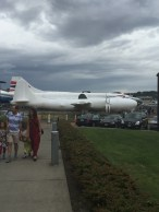 Shrink wrapped B-29