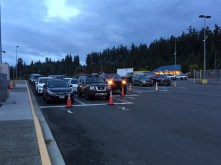 Ferry line in Anacortes