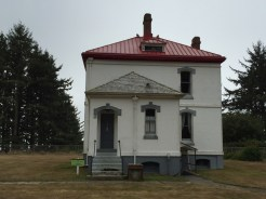 Lighthouse keeper's quarters that you can stay at.