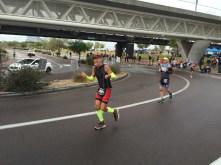 Finishing lap 1