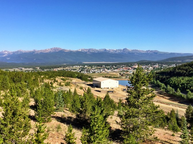 Leadville from partway down the hill.