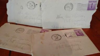 Great grandma's letters