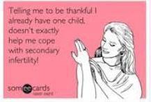 secondary infertility meme