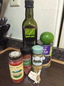 Bean Dip Ingredients