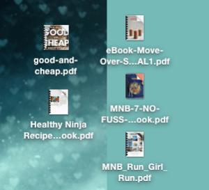 Cookbook Downloads