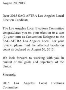 SAG-AFTRA win