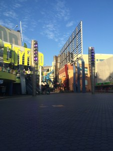 Empty City Walk