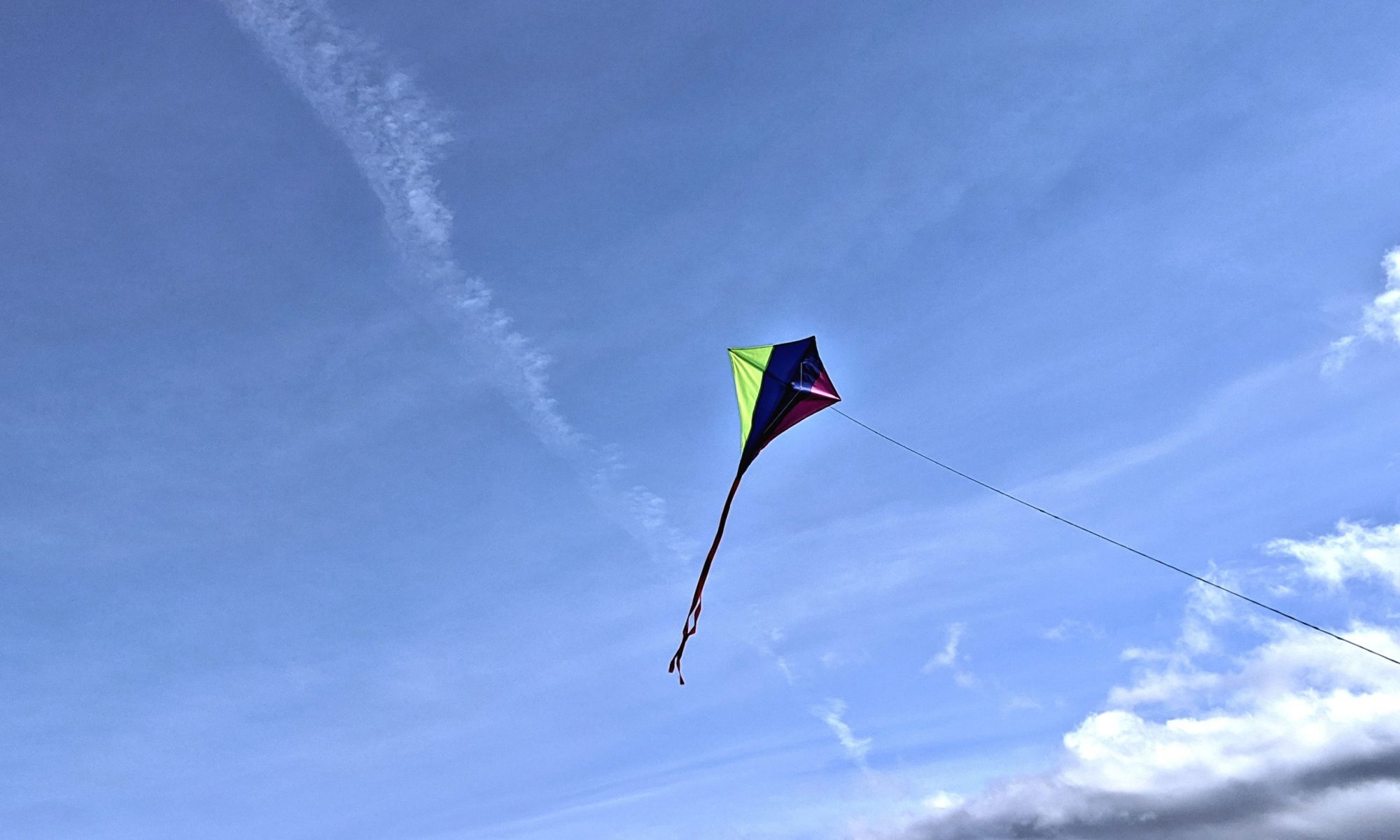 Finding my kite