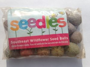 Seedles wildflower seed balls