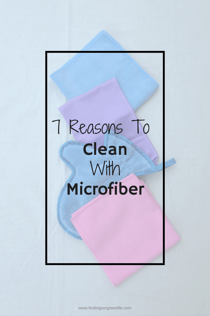 Green Clean with microfiber