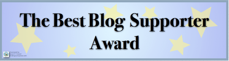 The Best Blog Supporter Award