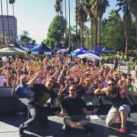 100 Degrees in Riverside, California