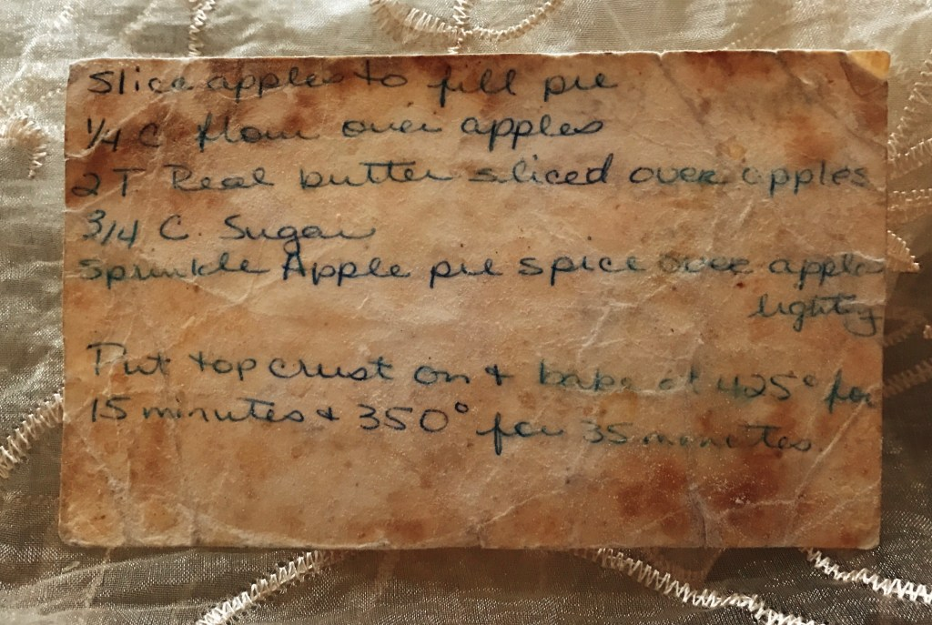 Apple Pie Recipe Pt 2