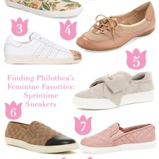 Feminine Favorites: Springtime Sneakers