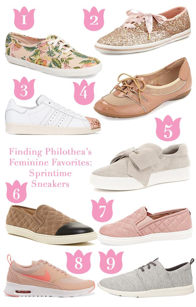 Springtime Sneakers