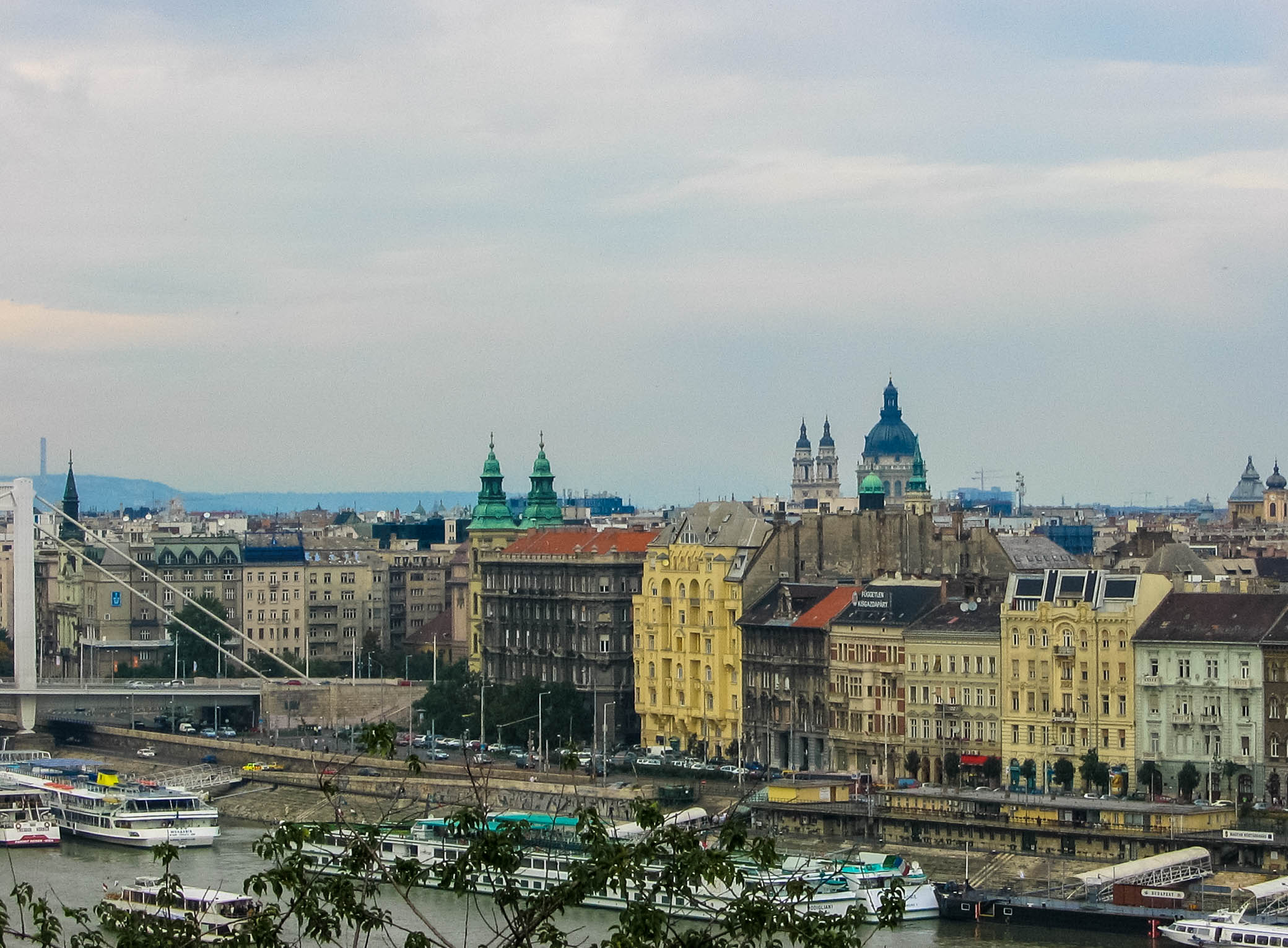 Laura in Budapest