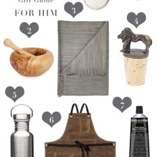 Ethically Made Valentine's Day Gift Guide For Him