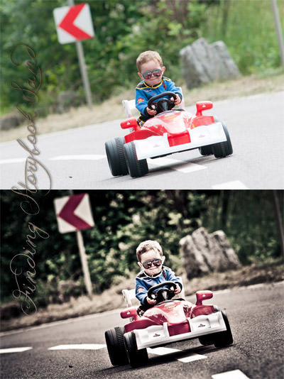 Finding Storybook Land Race Car lightroom Preset download