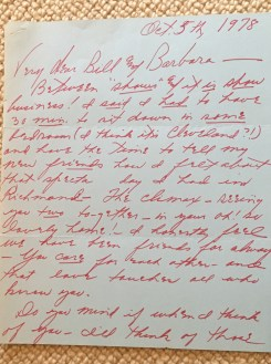 Letter from Mary Martin