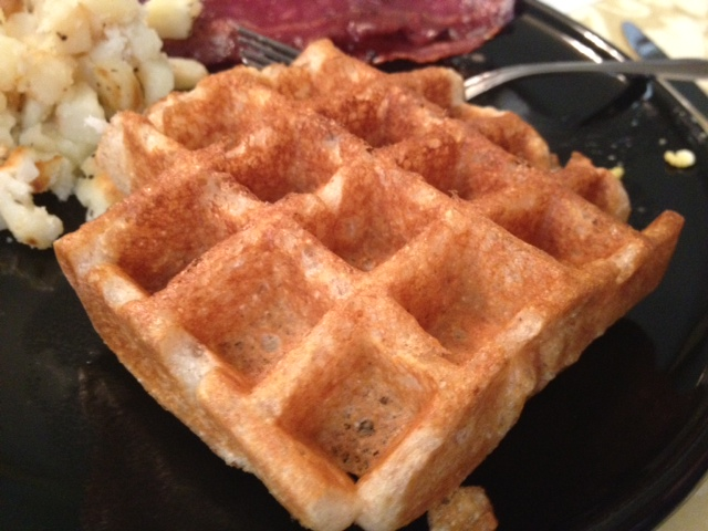 Easy Buttermilk Belgian Waffles | finding time for cooking blog