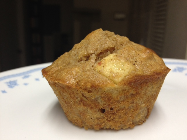 A good option to make for an easy breakfast at work...apple cinnamon muffins