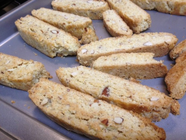 delicious orange almond biscotti double-baked