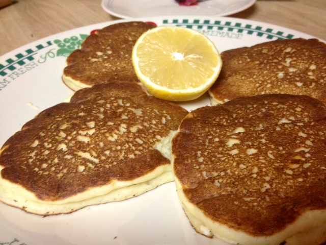 Lemon Ricotta Pancakes | finding time for cooking blog