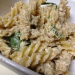 Traditional Pasta with Walnut Sauce & Rocket – Version 1