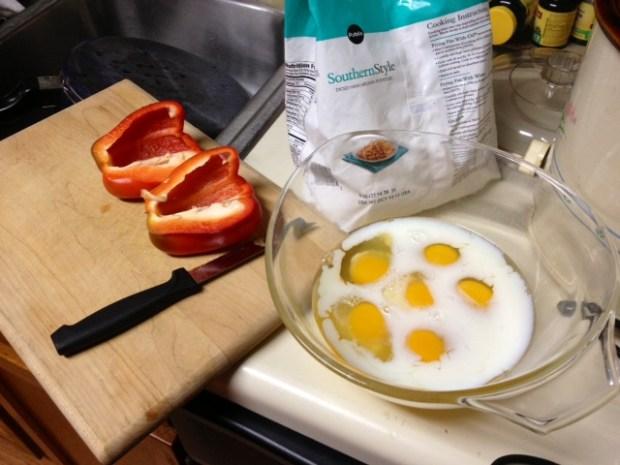 crockpot breakfast casserole eggs