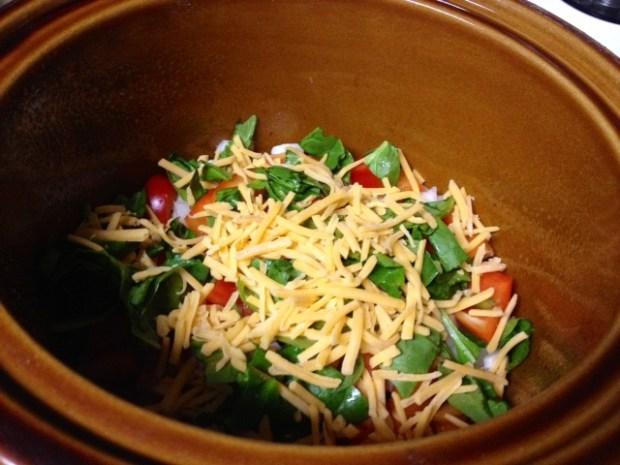 crockpot breakfast casserole layers2