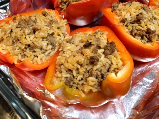stuffed peppers baked