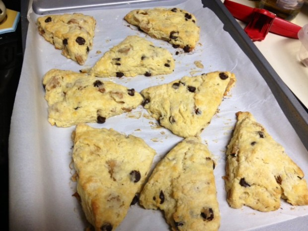 pear brown butter scones finished2