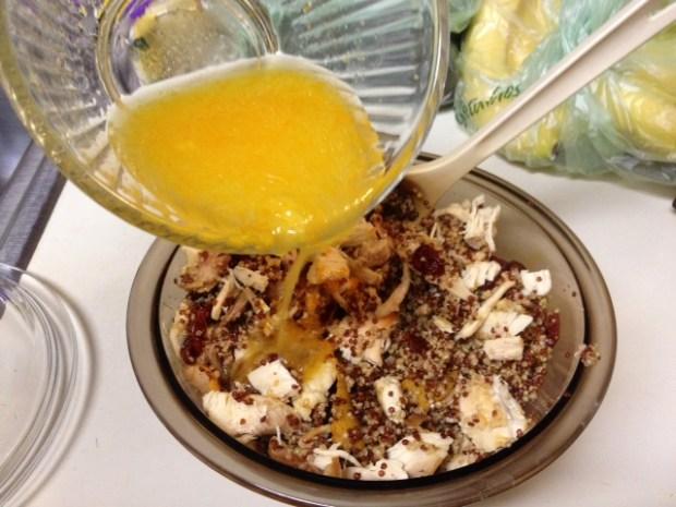 sweet savory quinoa mixed up dressing