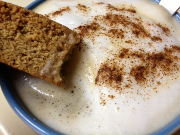 snickerdoodle biscotti finished coffee