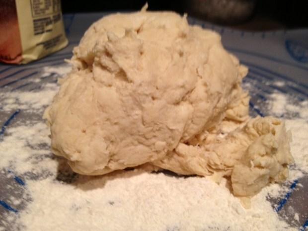 one hour skillet focaccia dough knead