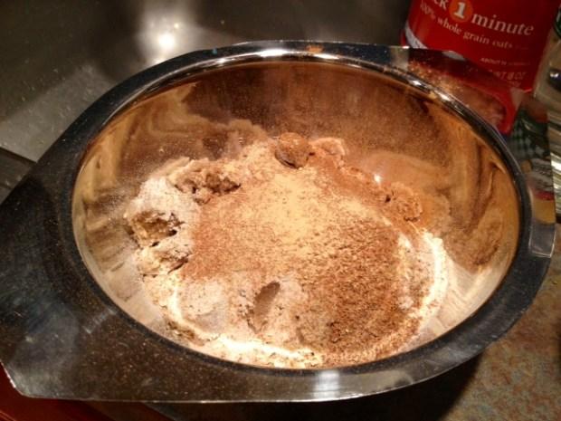 peach cardamom crisp topping dry ingredients