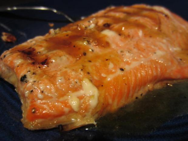Maple Citrus Salmon