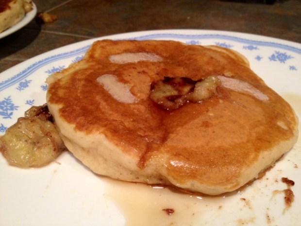 banana bourbon pancakes finished2