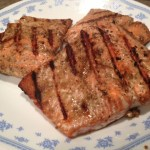 Sesame-Soy Grilled Salmon