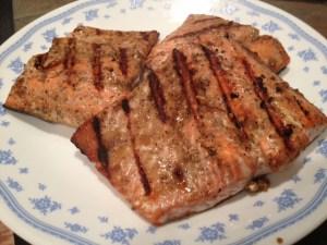 Soy Glazed Grilled Salmon