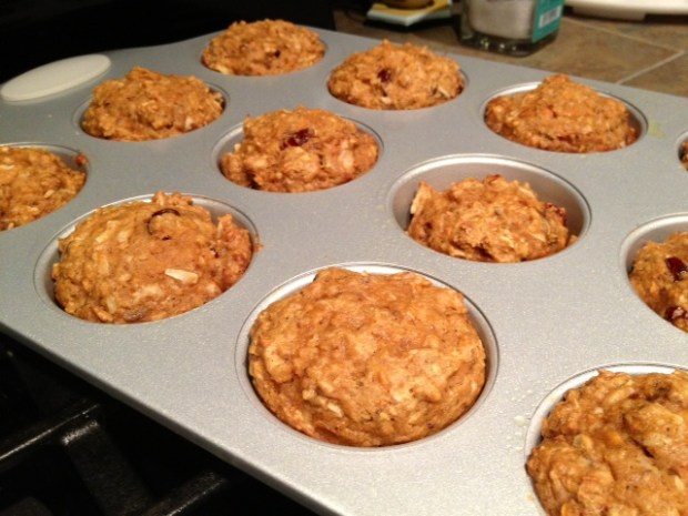 morning glory muffins baked2
