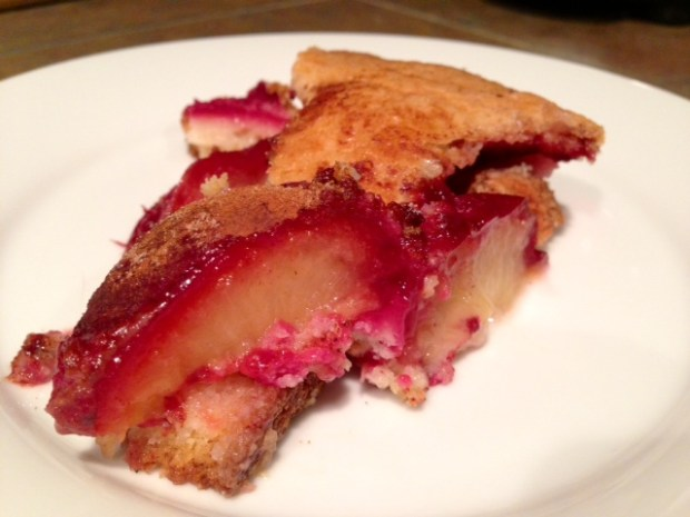 Plum Torte slice