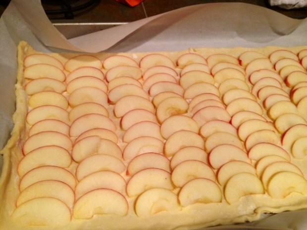 honey apple tart apple slices