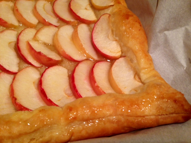 Honey Apple Tart with Puff Pastry | finding time for cooking