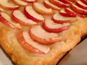 Honey Apple Tart