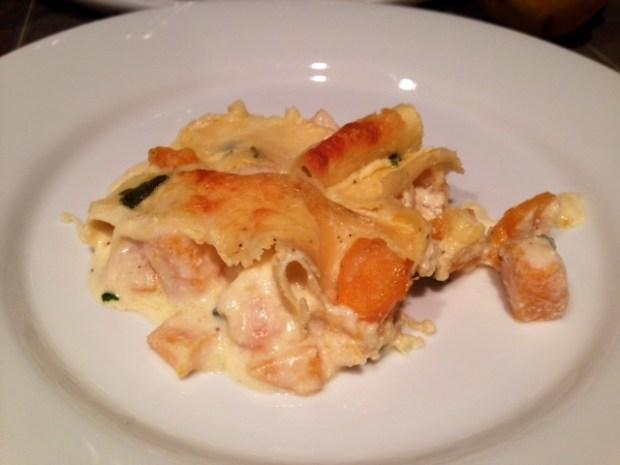 Butternut Squash & Sage Lasagna finished